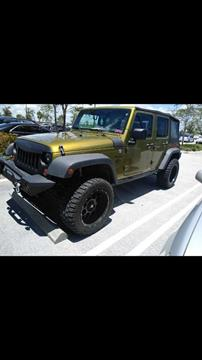 2007 Jeep Wrangler Unlimited for sale in Port Saint Lucie, FL