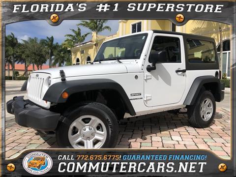 2013 Jeep Wrangler for sale in Port Saint Lucie, FL