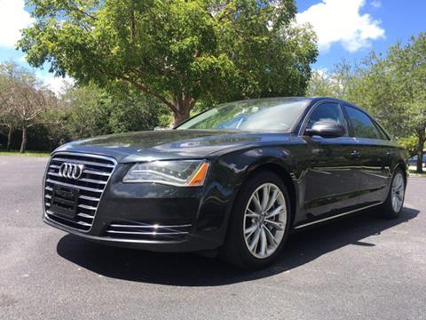 2012 Audi A8 L for sale in Miramar, FL