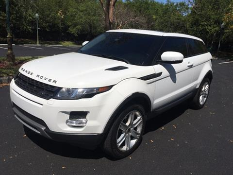 2012 Land Rover Range Rover Evoque Coupe for sale in Miramar, FL