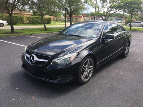 2014 Mercedes-Benz E-Class for sale in Miramar, FL