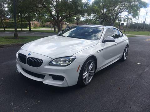 2014 BMW 6 Series for sale in Miramar, FL