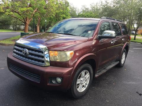 2008 Toyota Sequoia for sale in Miramar, FL