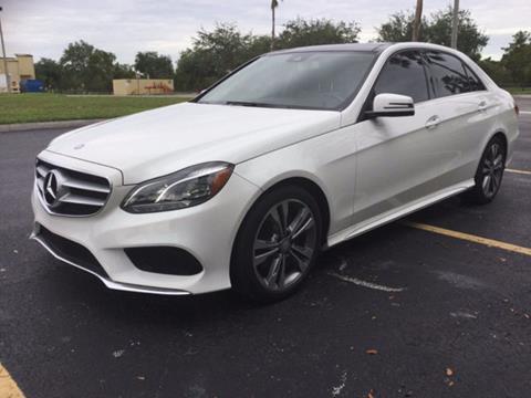 2016 Mercedes-Benz E-Class for sale in Miramar, FL