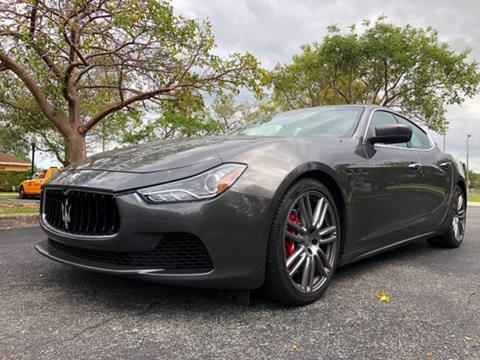 Maserati Used Cars Bad Credit Auto Loans For Sale Miramar A Luxury Autos