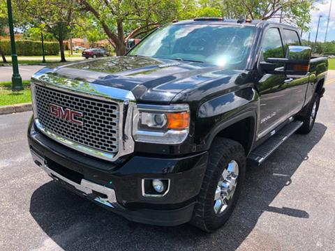 2016 GMC Sierra 3500HD for sale in Miramar, FL