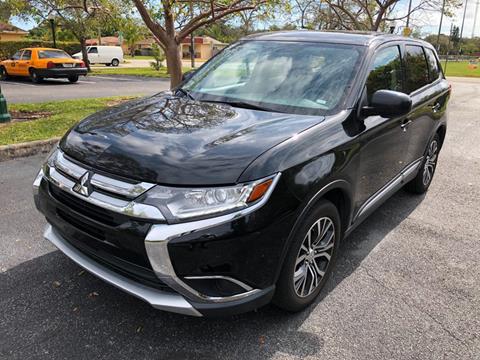 2018 Mitsubishi Outlander for sale in Miramar, FL