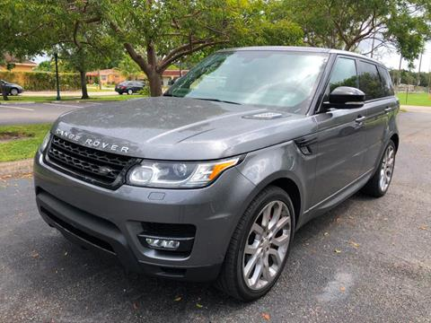 2015 Land Rover Range Rover Sport for sale in Miramar, FL