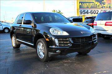 2009 Porsche Cayenne for sale in Miramar, FL