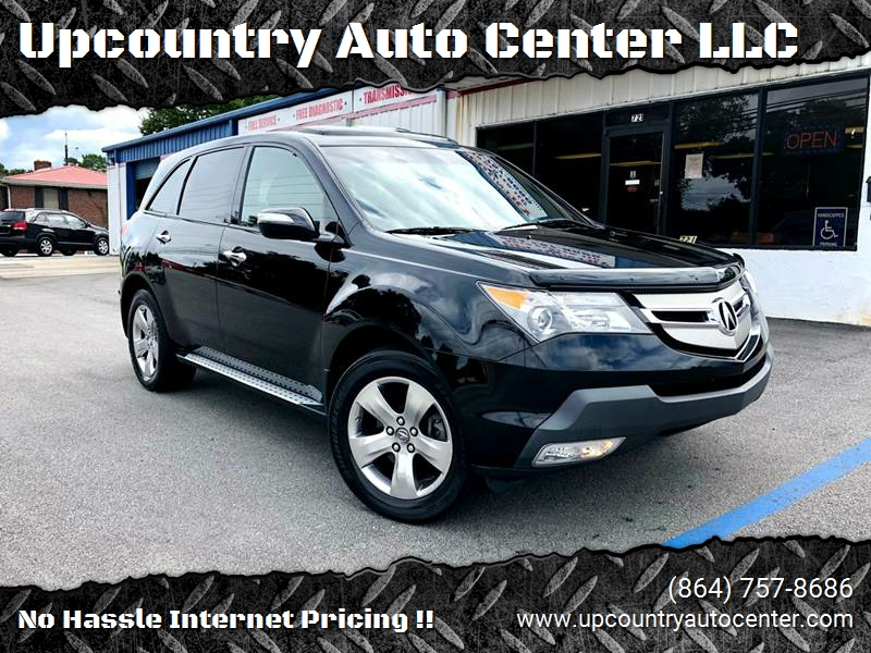 Acura Mdx SHAWD Dr SUV WSport Package In Simpsonville SC - 2007 acura mdx sport shocks