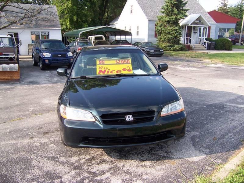 1999 Honda Accord EX V6 4dr Sedan