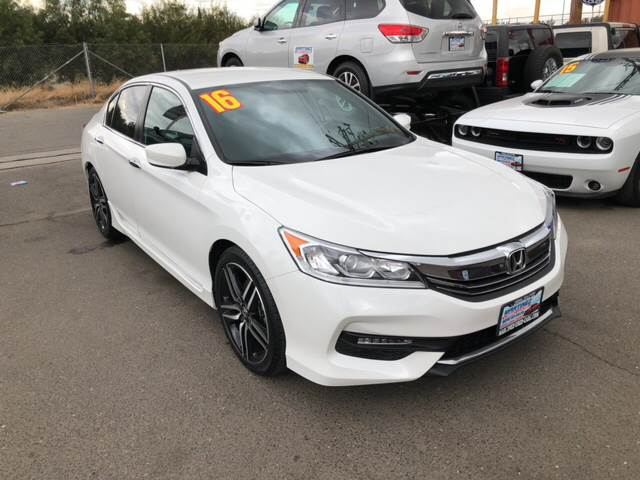 2016 Honda Accord Sport 4dr Sedan CVT   Livingston CA