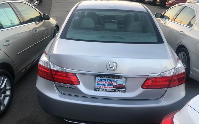 2014 Honda Accord EX-L 4dr Sedan w/Navi In Livingston CA ...