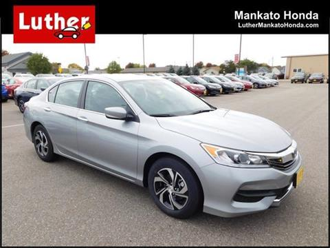 2017 Honda Accord for sale in Mankato MN