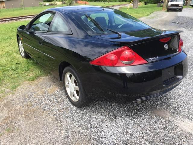 2001 Mercury Cougar 2dr Hatchback V6 - Maiden NC