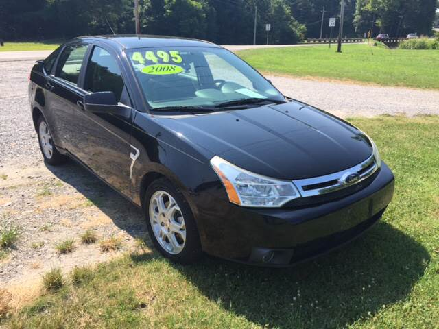 2008 Ford Focus SES 4dr Sedan - Maiden NC