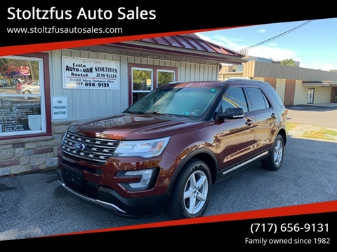 2016 Ford Explorer for sale in Lancaster, PA