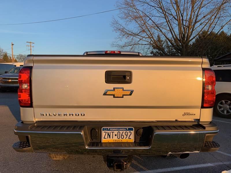 2019 Chevrolet Silverado 2500HD 4x4 Work Truck 4dr Crew Cab LB - Lancaster PA