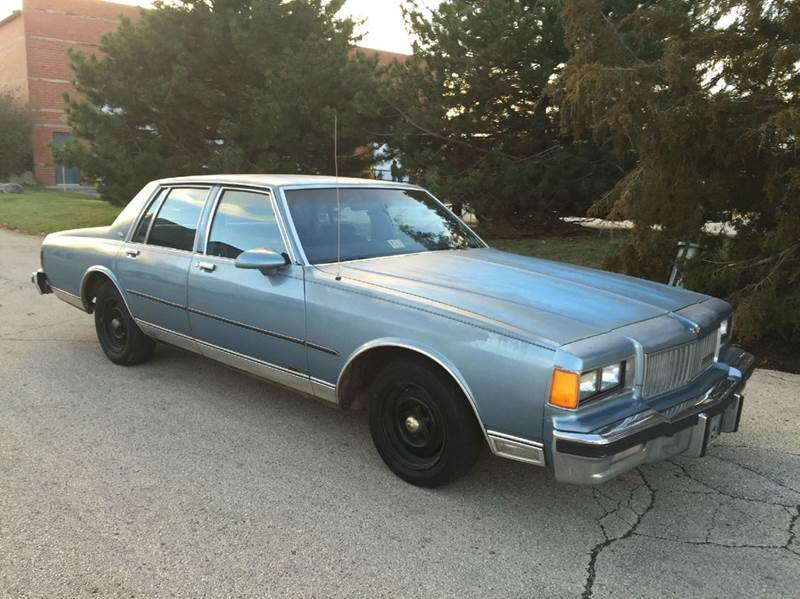 1986 Chevrolet Caprice Classic 4dr Sedan In East Dundee IL