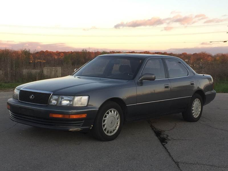 1990 Lexus Ls 400 4dr Sedan In East Dundee Il All Star