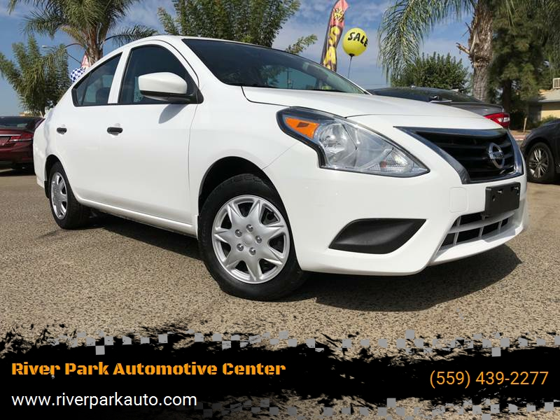 2016 nissan versa 1 6 s plus 4dr sedan in fresno ca river park automotive center. Black Bedroom Furniture Sets. Home Design Ideas