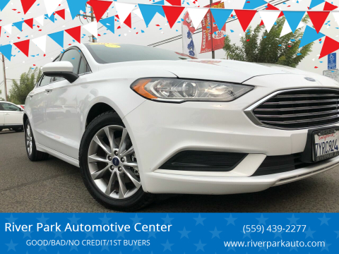 2017 Ford Fusion for sale at River Park Automotive Center in Fresno CA