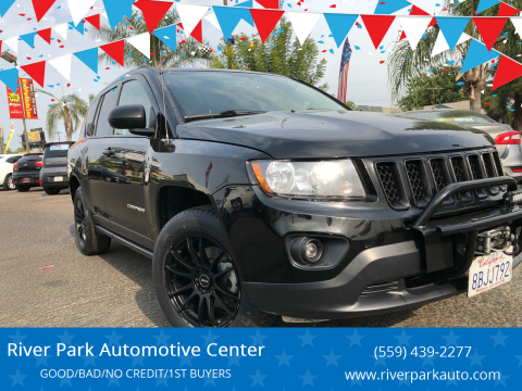2016 Jeep Compass for sale at River Park Automotive Center in Fresno CA