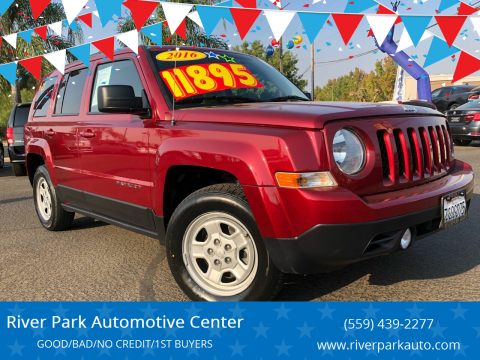 2016 Jeep Patriot for sale at River Park Automotive Center in Fresno CA