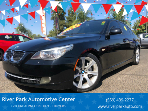 2010 BMW 5 Series for sale at River Park Automotive Center in Fresno CA