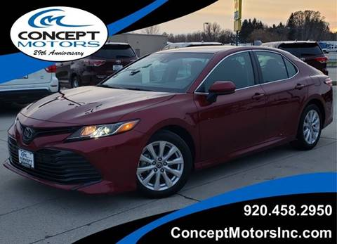 2018 Toyota Camry for sale in Sheboygan, WI