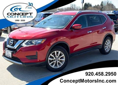 2017 Nissan Rogue SV for sale at CONCEPT MOTORS INC in Sheboygan WI
