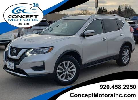 2019 Nissan Rogue SV for sale at CONCEPT MOTORS INC in Sheboygan WI
