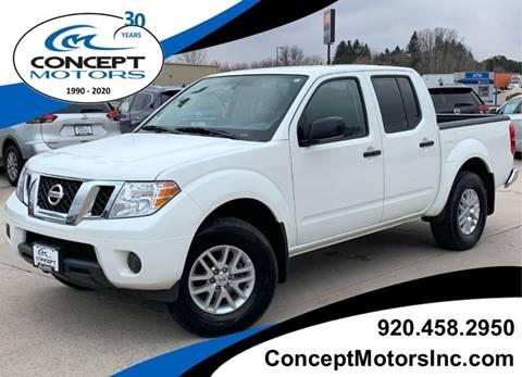 2019 Nissan Frontier SV for sale at CONCEPT MOTORS INC in Sheboygan WI