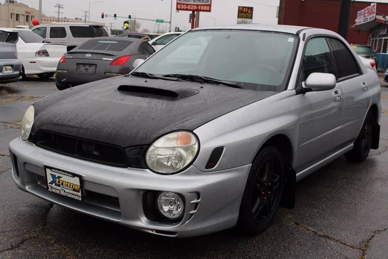 2003 subaru wrx exhaust