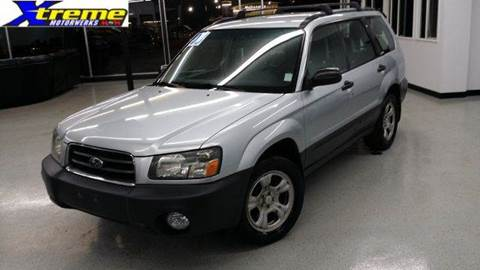 2003 Subaru Forester for sale at Xtreme Motorwerks in Villa Park IL