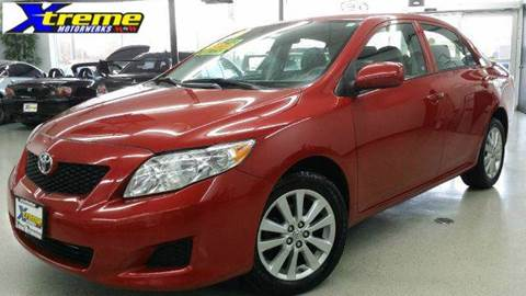 2009 Toyota Corolla for sale at Xtreme Motorwerks in Villa Park IL