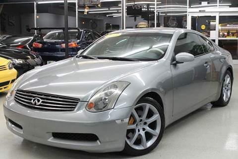 2003 Infiniti G35 for sale at Xtreme Motorwerks in Villa Park IL