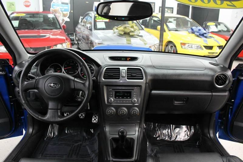 2006 Subaru Impreza Wrx Limited Heated Leather Seats Sunroof Spt
