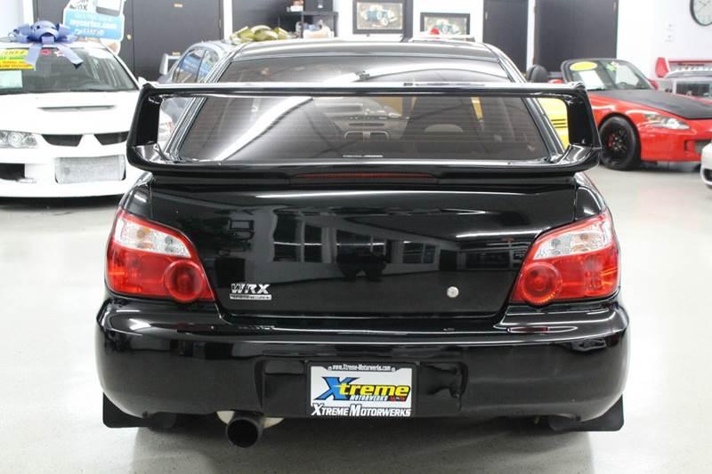 2005 Subaru Impreza Wrx Sedan  Premium Package  Heated Seats  Sunroof  Sti Spoiler  Aps Exhaust