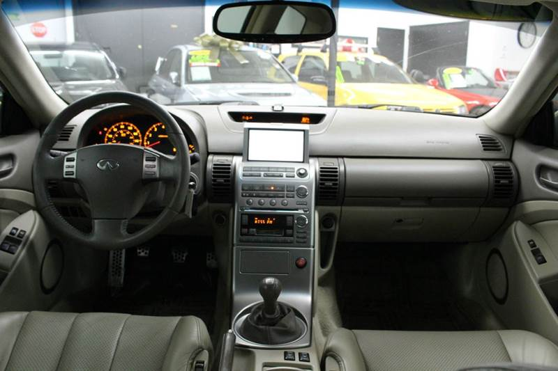 2004 infiniti g35 manual shift