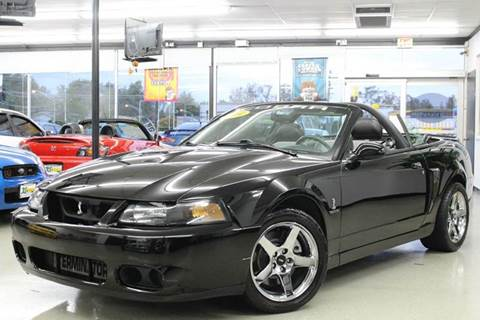 2004 Ford Mustang SVT Cobra for sale at Xtreme Motorwerks in Villa Park IL