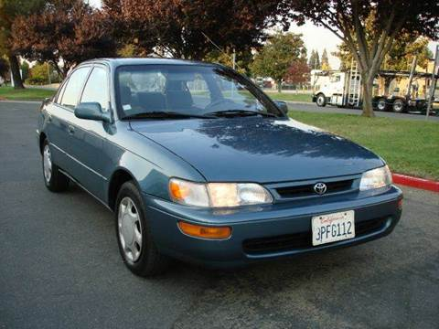 1996 Toyota Corolla for sale at Mr Carz Auto Sales in Sacramento CA