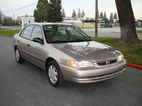 1999 Toyota Corolla for sale at Mr Carz Auto Sales in Sacramento CA