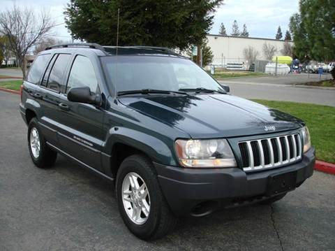 2004 Jeep Grand Cherokee for sale at Mr Carz Auto Sales in Sacramento CA