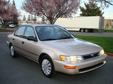 1994 Toyota Corolla for sale at Mr Carz Auto Sales in Sacramento CA