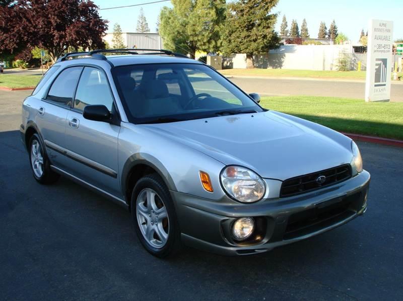 2003 Subaru Impreza for sale at Mr Carz Auto Sales in Sacramento CA