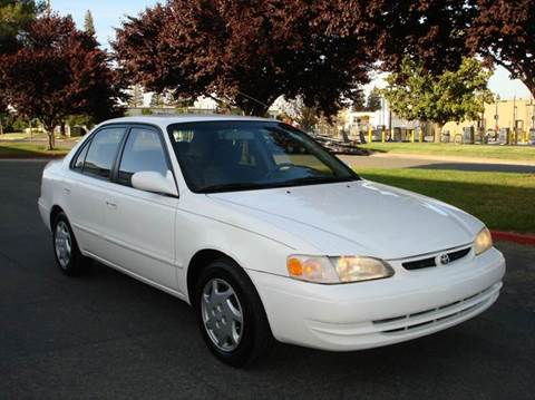 2000 Toyota Corolla for sale at Mr Carz Auto Sales in Sacramento CA