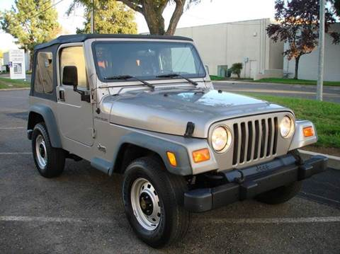 2000 Jeep Wrangler for sale at Mr Carz Auto Sales in Sacramento CA