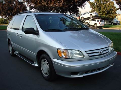 2002 Toyota Sienna for sale at Mr Carz Auto Sales in Sacramento CA