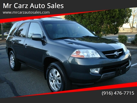 2003 Acura MDX for sale at Mr Carz Auto Sales in Sacramento CA